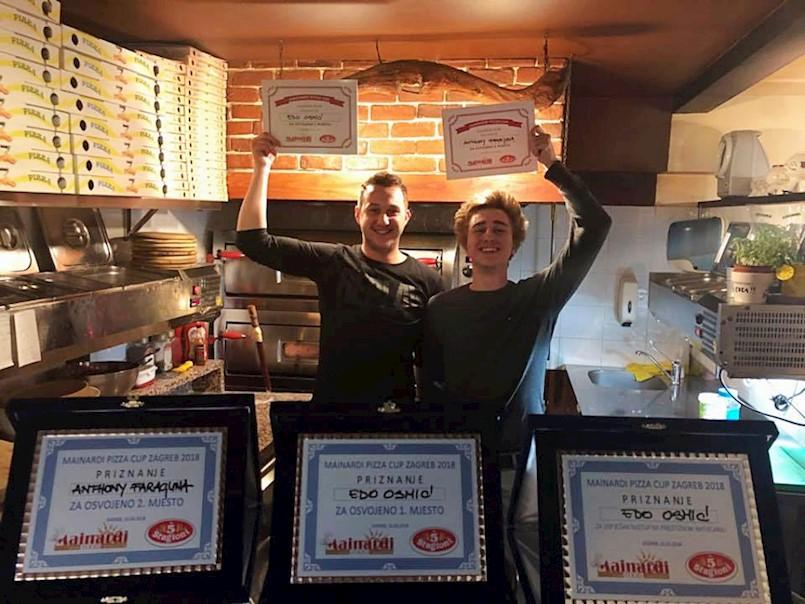 Edo Osmić i Anthony Faraguna najbolji pizza majstori u Hrvatskoj