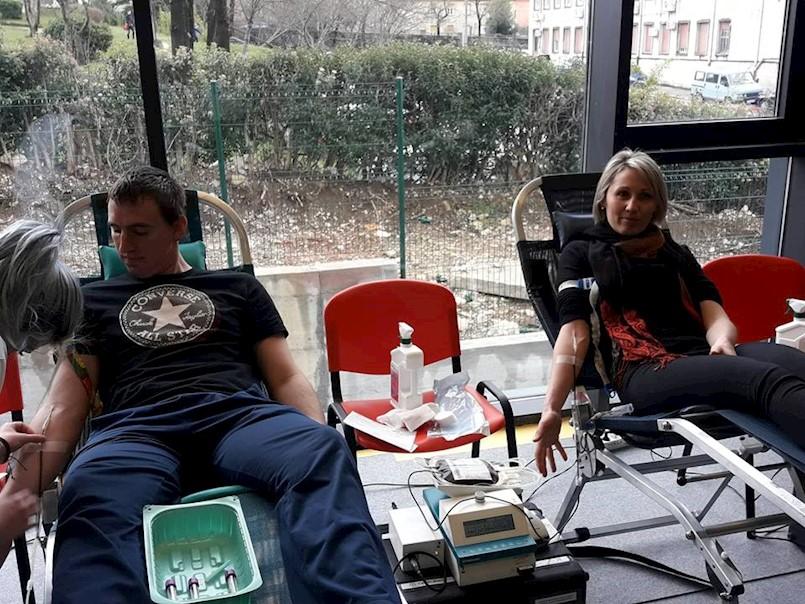 Održana akcija darivanja krvi u Labinu i Koromačnu - prikupljene 77 doze krvi