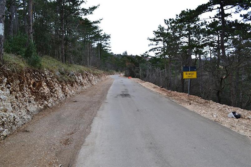 Radovi na županijskoj cesti Donji Kranjci – Bartići (Junac)