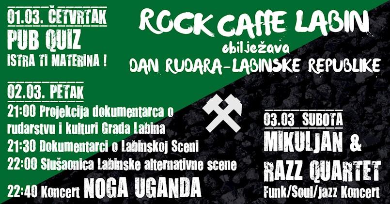 Obilježavanje 97. obljetnice Labinske republike u Rock Caffeu