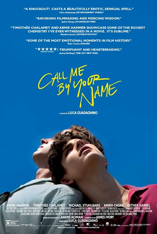 Filmoteka:  Call Me by Your Name (2017)