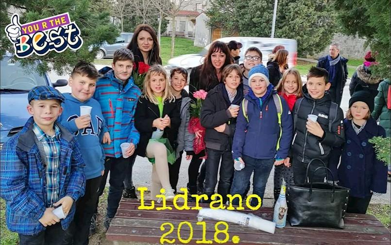 Pinokio rabačkih osnovnoškolaca na državnom LiDraNu