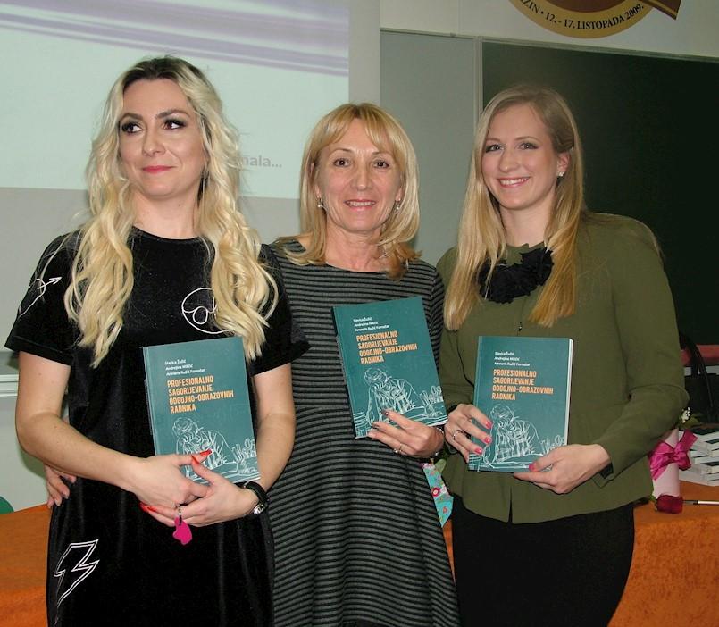 Amneris Ružić Fornažar među autorima promovirane knjige Profesionalno sagorijevanje odgojno-obrazovnih radnika