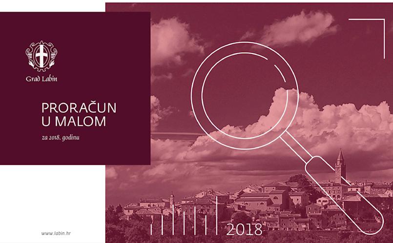 Grad Labin: Proračun u malom za 2018. godinu