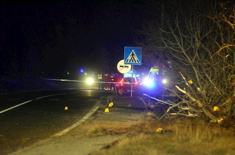 Plomin: Autobus udario u stablo