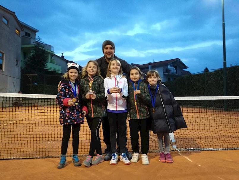 Odlični rezultati mladih tenisačica TK Rabac