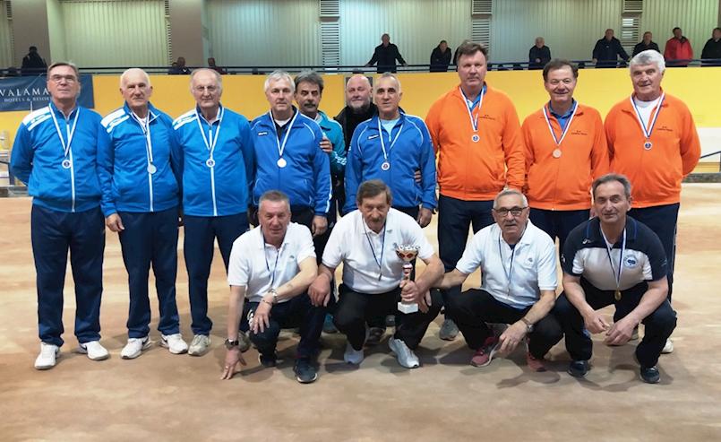 Labinjani treći na veteranskom boćarskom prvenstvu Istre
