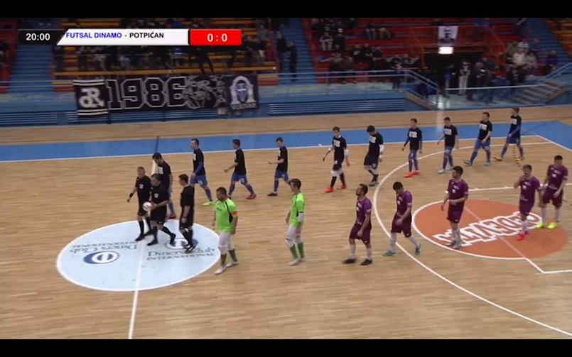 Futsal Dinamo nije dozvolio iznenađenje, novi uvjerljivi poraz Albone Potpićan 98