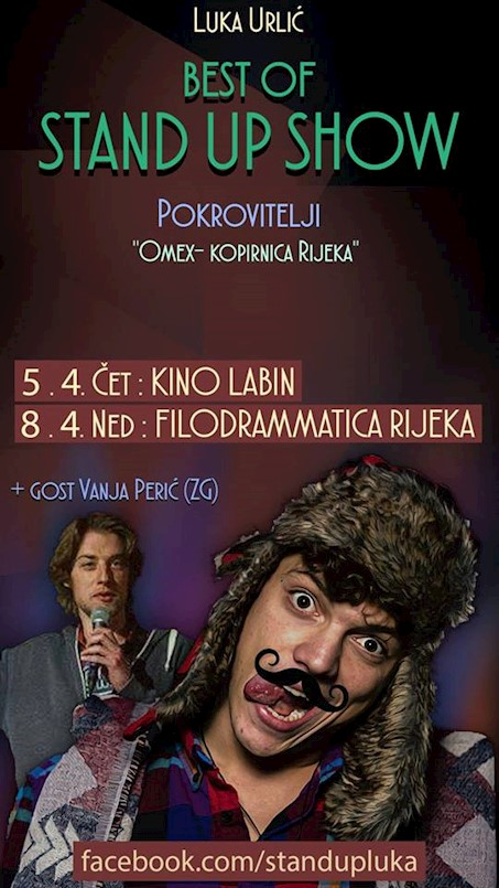 Večeras Luka Urlić: Best of stand-up comedy