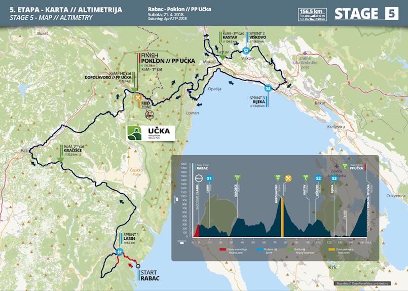 [SATNICA] Kraljevska etapa ovogodišnjeg Tour of Croatia sljedeće subote starta iz Rapca - posebna regulacija prometa