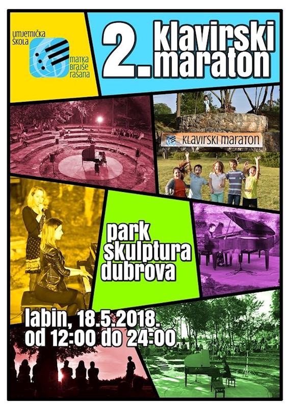 [NAJAVA]  2. Klavirski maraton 18. svibnja 2018. u Parku skulptura Dubrova