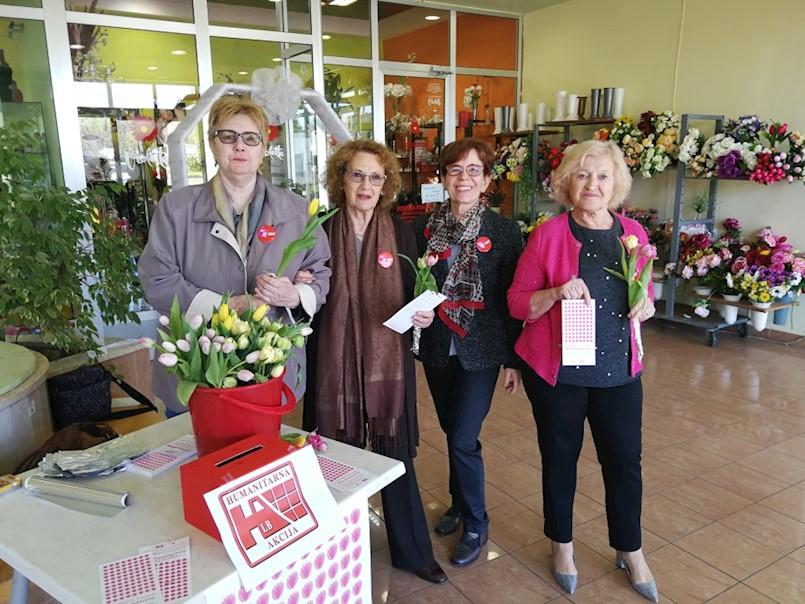 Održana humanitarna akcija ''Omiljeni cvijet Ane Rukavine''