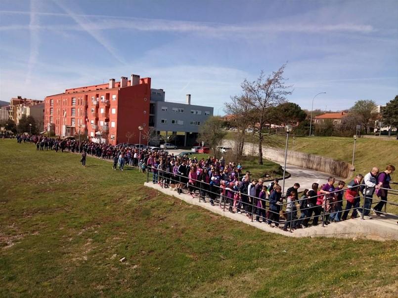 """U Labinu petsto građana uključeno u manifestaciju """"Hoditi i zdravi biti"""""""
