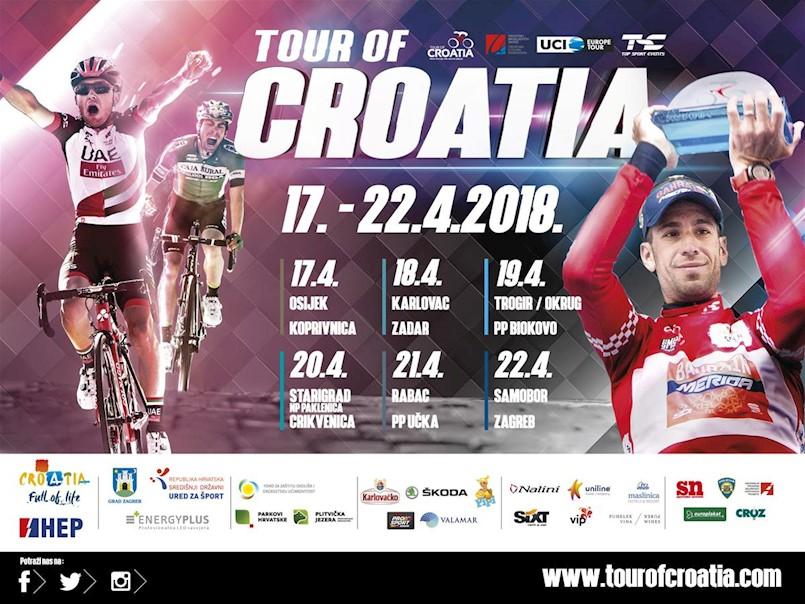 Pratite Tour of Croatia na najfrekventnijim punktovima u Labinu