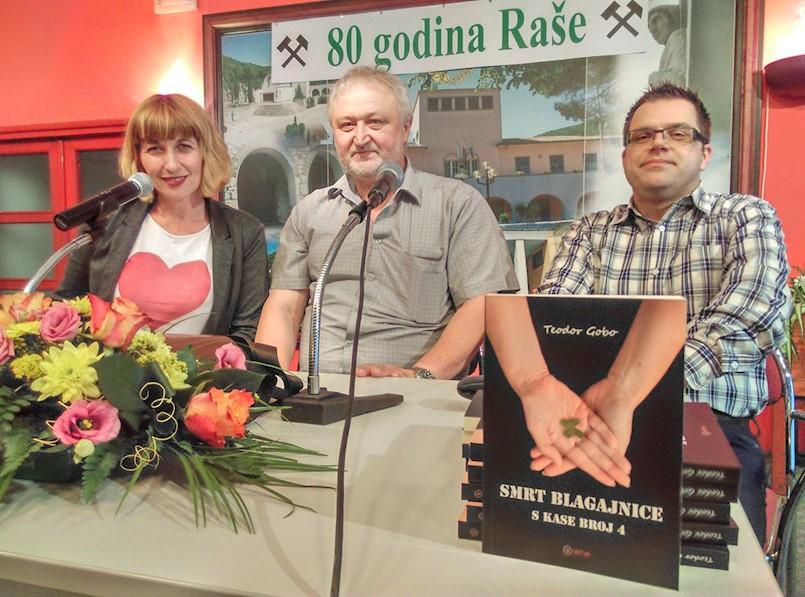 Predstavljena treća knjiga Teodora Goba iz Trgetari: Smrt blagajnice s kase br. 4