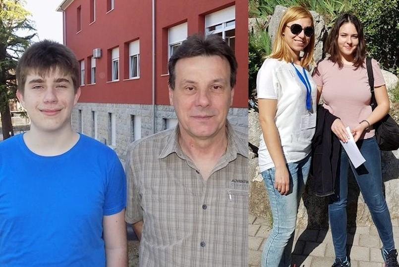 Srednjoškolci Martin Šverko 4., a Marija Lalović 5. na državnim natjecanjima