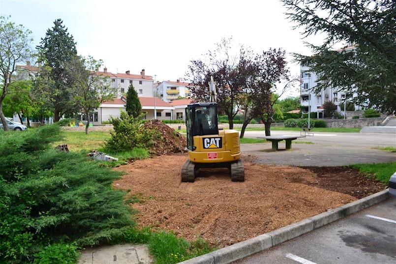 Započeli radovi na igralištu u naselju Kature