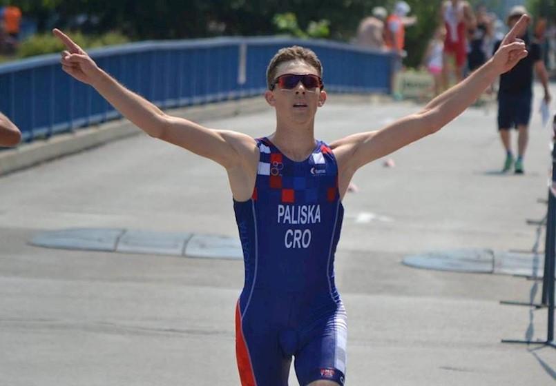 Labinski triatlonac Luka Paliska nadomak nastupa na Mediteranskim igrama