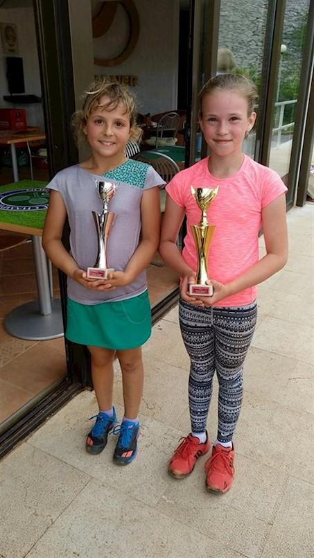 Mladi tenisači i tenisačice TK Rabac uspješni na natjecanju u Rijeci