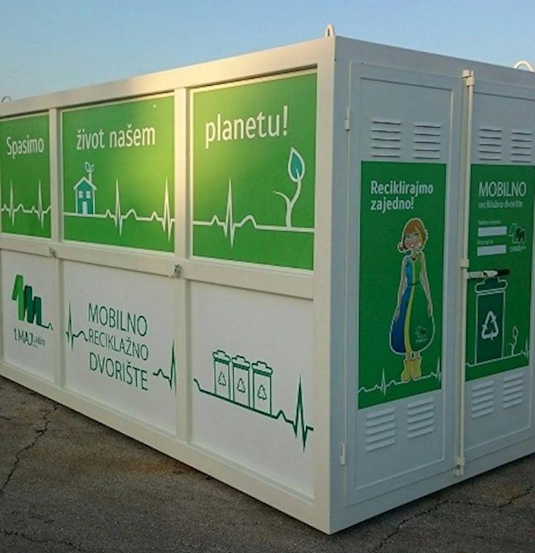 Mobilno reciklažno dvorište u naselju Sv. Marina