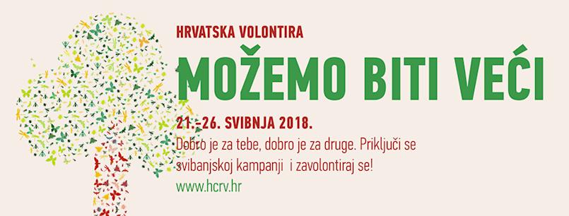 Hrvatska volontira 2018. – prijavljeno preko 260 volonterskih aktivnosti, od toga dvije u Labinu