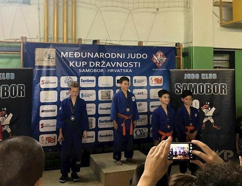 """JK Ippon nastupio na turniru """"Kup Državnosti"""" u Samoboru"""