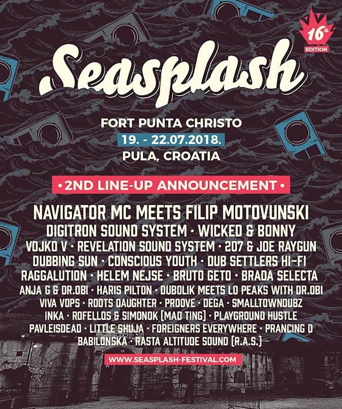 Seasplash otkriva nova imena i koncept ovogodišnjeg festivala