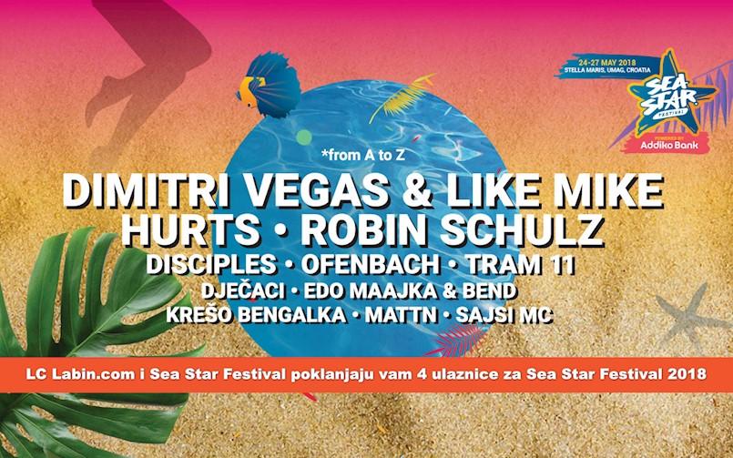 [NAGRADNA IGRA] LC Labin.com i Sea Star Festival poklanjaju vam 4 ulaznice za ovogodišnji festival