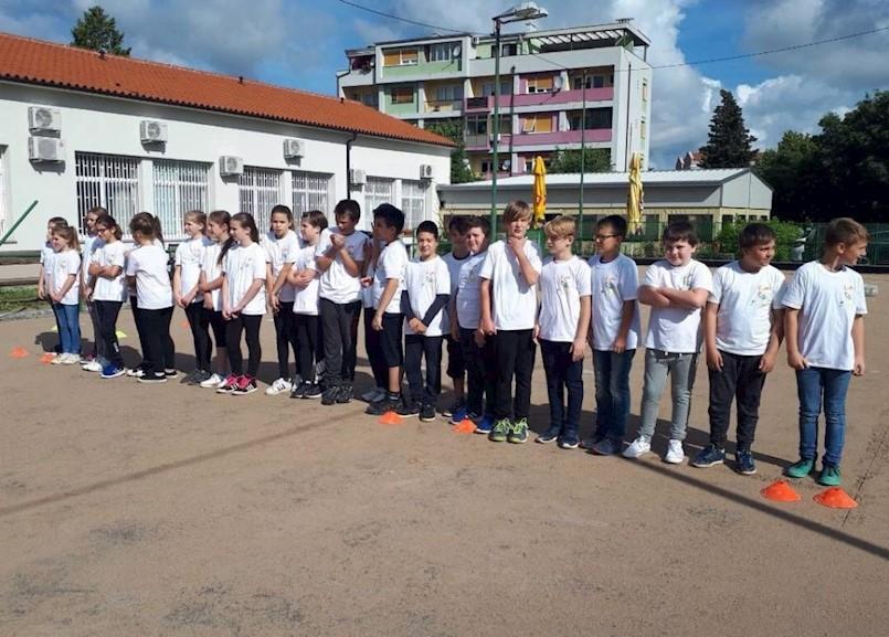 Veliki broj učenika sudjelovao u natjecanjima projekta Boćajmo u školi