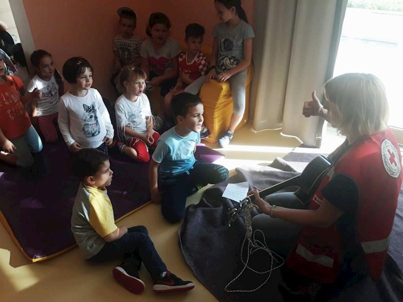 Ovaj tjedan Dječji vrtić Kockica Kršan posvetio je zdravlju