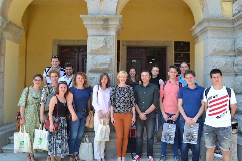 Posjet delegacije Duge Rese – Grad Labin odličan primjer