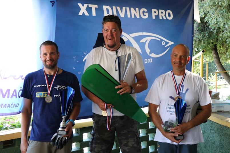 Danijela Pizentić drugi na XXVI. Međužupanijskom prvenstvu sjevernog Jadrana u podvodnom ribolovu