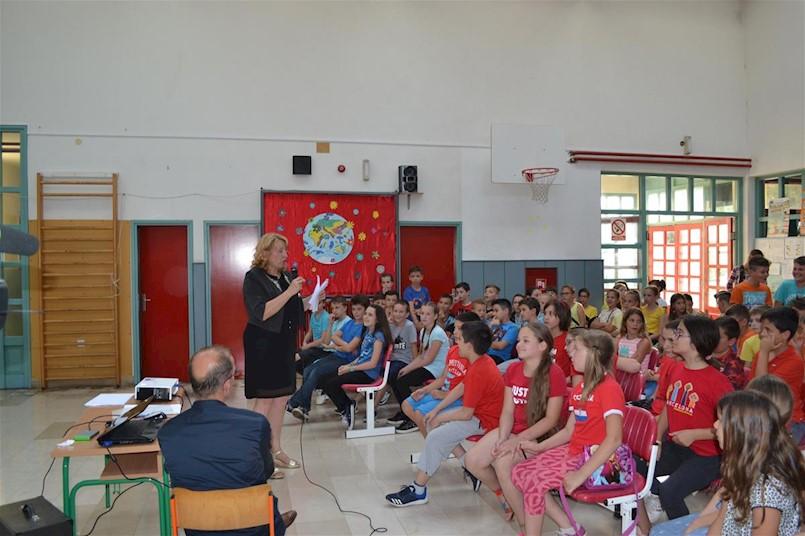 Plava ekipa najbolja u Eko kvizu učenika četvrtih razreda labinskih osnovnih škola