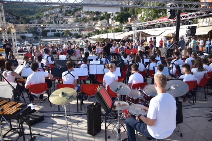 Na rabačkoj rivi održan 2. Rabac Orchestra Festival