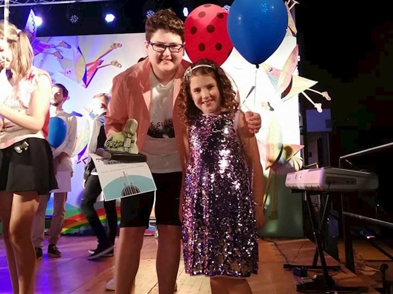 Brat i sestra Antonio i Ana Martinčić nagrađeni na ''Malom velikom mikrofonu''