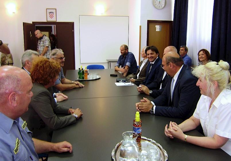 Pomoćnik ministra i predstavnici Lučke uprave Rijeka posjetili Trget i Raški zaljev