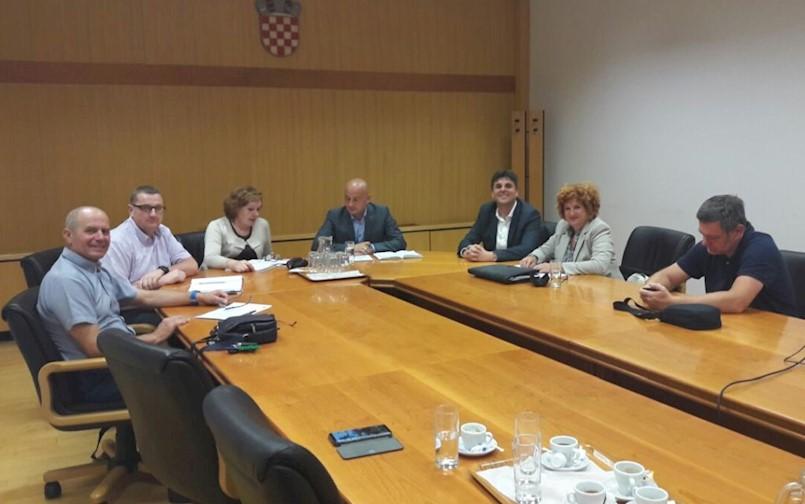 U Hrvatskim vodama sastanak o sustavu odvodnje otpadnih voda – Aglomeracije Labin-Raša-Rabac