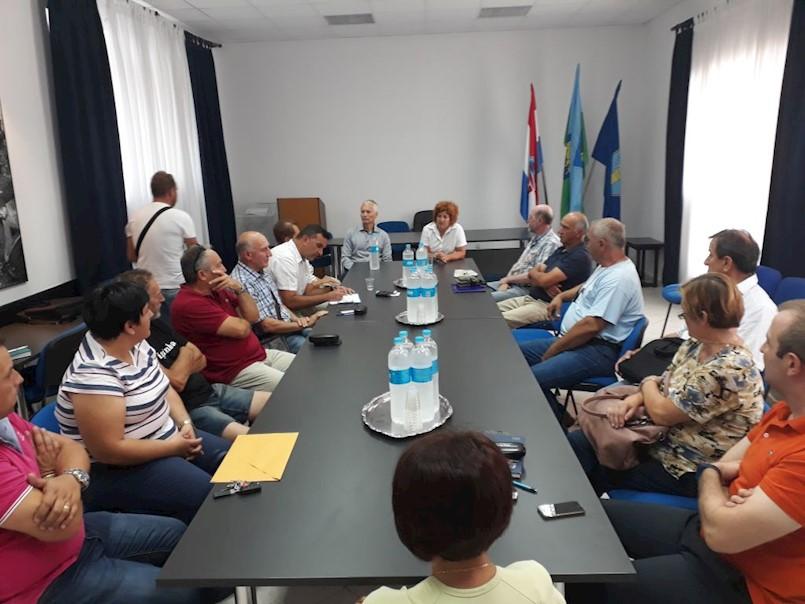 Održan sastanak s građanima Trgeta i okolice