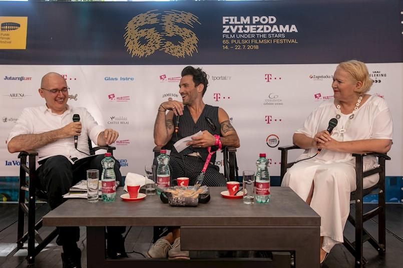 """Direkcija najavila otvorenje 65. Pulskog filmskog festivala  Održane i konferencije za medije filmova """"U ime Jagode, Čokolade i Duha Svetoga"""" i """"Aleksi"""""""