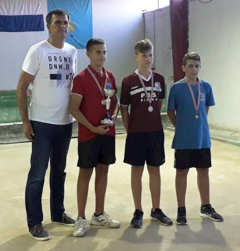 Ivan Načinović osvojio brončanu medalju u preciznom izbijanju na prvenstvu RH u boćanju
