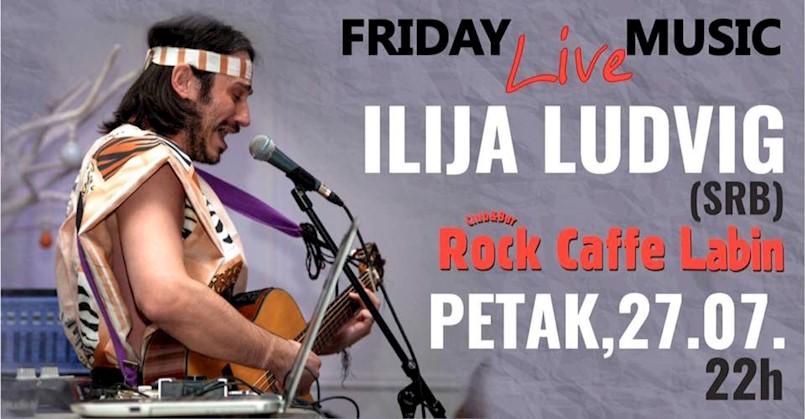 Regionalna senzacija Ilija Ludvig u labinskom Rock caffeu