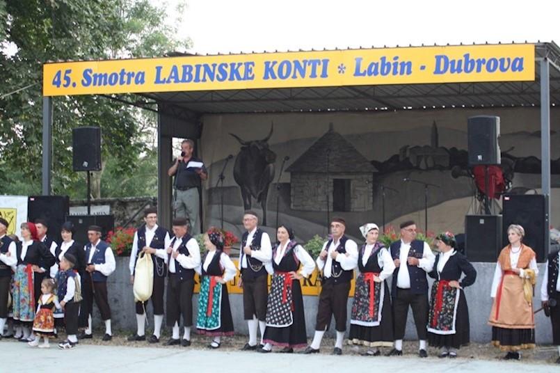 U subotu 50. Labinske konti - pola stoljeća tradicije