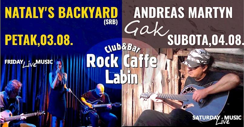 Dva koncerta ovog vikenda u Rock Caffeu