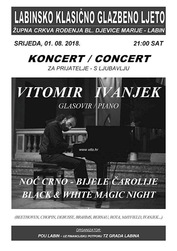 Na Klasičnom ljetu klavijaturist Vitomir Ivanjek