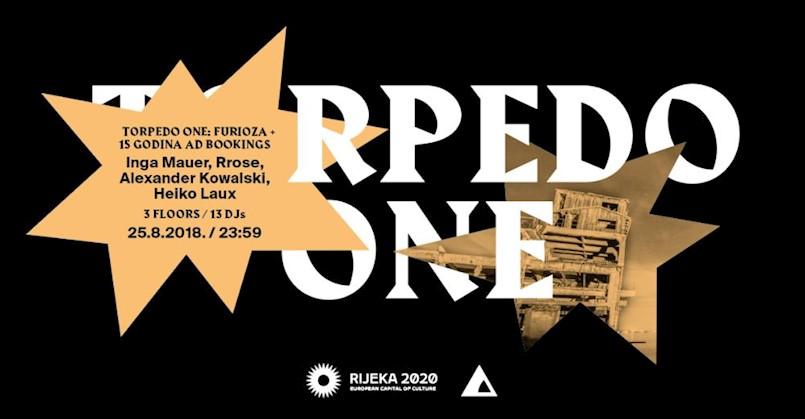 Torpedo ONE party u bivšu riječku tvornicu dovodi  Alexandera Kowalskog, Ingu Mauer, Rrose i mnoge druge