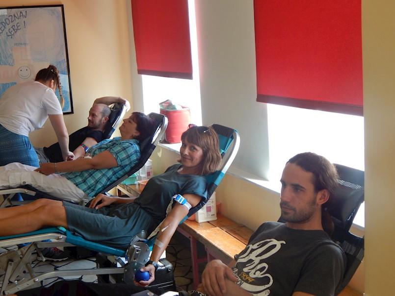 Na akciji dobrovoljnog darivanja krvi prikupljeno 75 doza krvi