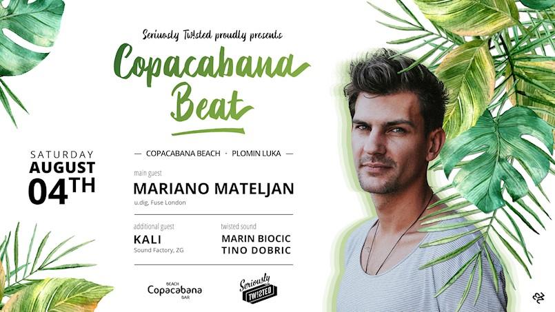 Copacabana Beat w/ Mariano Mateljan [04/08/2018]