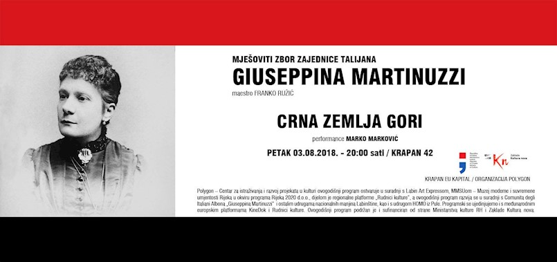 """Večeras  performans """"Crna zemlja gori"""" i zajednički nastup mješovitog zbora zajednice Talijana Giuseppina Martinuzzi u Krapnu"""
