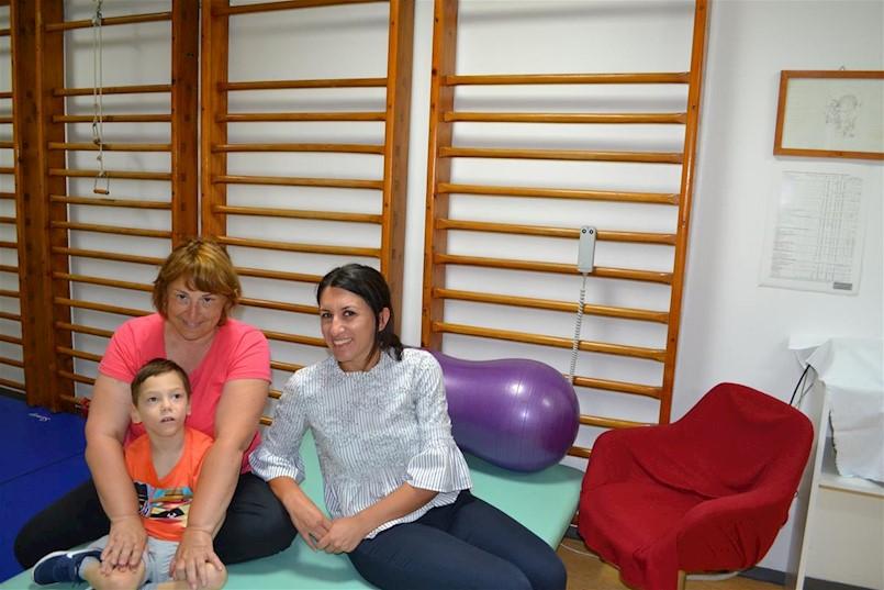 Individualna kineziterapija za djecu s teškoćama u razvoju i osobe s invaliditetom