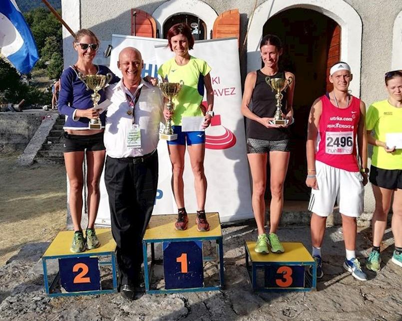Barbara Belušić prvakinja Hrvatske u planinaskom trčanju